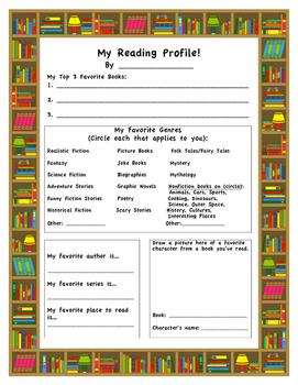 Reading Profile