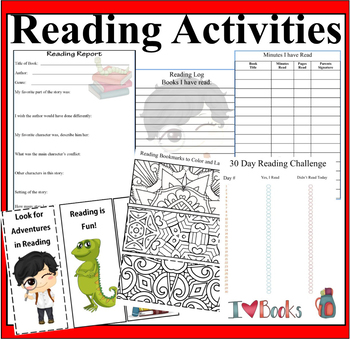 Reading Program and  Activities for Grade 2-5