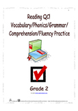 Reading QC! Vocabulary/Phonics/Grammar/Comprehension/Fluen