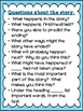 Reading Questions Poster Set