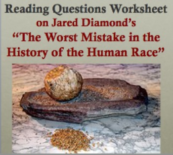 "Reading Questions on ""The Worst Mistake in the History of"