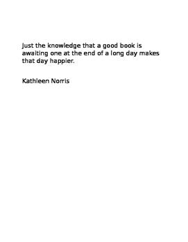 Reading Quotations