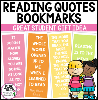 Reading Quotes Bookmarks
