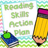 Reading Skills Action Plan - Editable