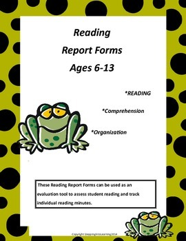 Reading Report Forms/Logs