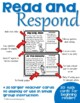 Read & Respond Task Cards: Setting Edition. Two versions.