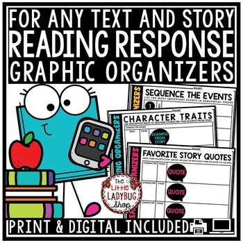 Reading Response Activities & Reading Graphic Organizers G