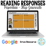 Google Drive Reading Response Journals: Story Elements, Re