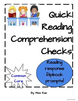 Quick Reading Comprehension Checks