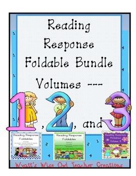 Reading Response Foldables Volumes 1-3
