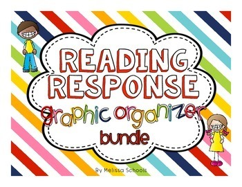 Reading Response Graphic Organizers BUNDLE