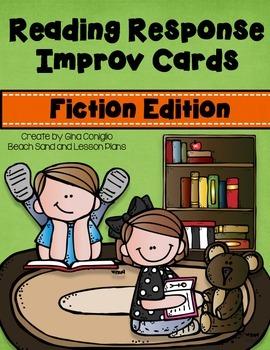 Reading Response Improv Cards: Fiction Edition