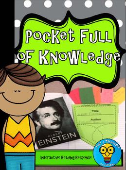 Reading Response - Interactive Notebook - Pocket Full of K