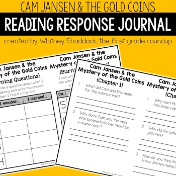 Reading Response Journal: Cam Jansen and the Mystery of th