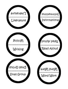 Reading Response Journal Labels