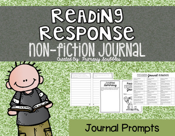 Reading Response Journal Non-Fiction Edition 1