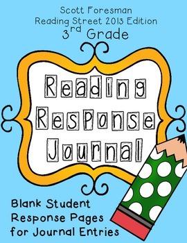Reading Response Journal - Scott Foresman Reading Street 2