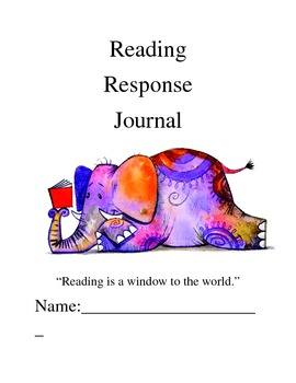Reading Response Journal Strategy Prompts - Fiction & Nonfiction