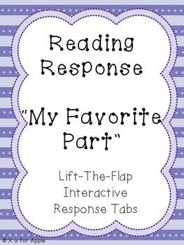 Reading Response- My Favorite Part