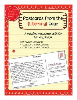 Reading Response Postcard Activities