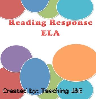 Reading Response Questions ELA