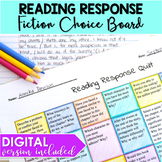 Reading Response Quilt
