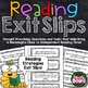 Reading Response: Reading Exit Slips Bundle