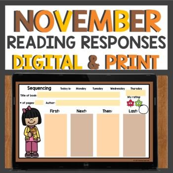 Reading Homework for November