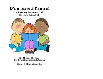 Reading Response Unit: Key Elements and Text-To-Text Connections