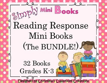 Reading Response to Literature Activities BUNDLE (K-3) Sim