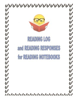 Reading Responses/Book Report forms/Reading Log for Readin