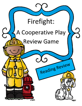 Reading Review Game with Paired Passage: Firefight (A coop