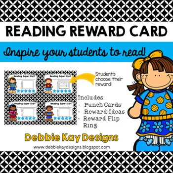 Reading Reward Cards