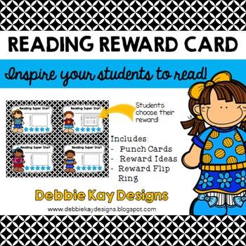 Reading Reward Cards