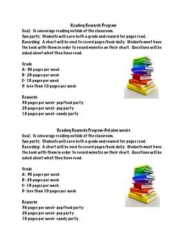 Reading Rewards Program