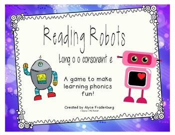 Reading Robots o consonant final e