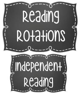 Reading Rotation Chart