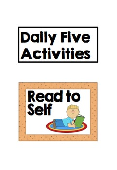 Reading Rotation Groups Display Cards - EDITABLE - daily f