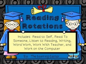 Reading Rotations--Graduation Theme!