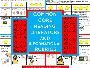 Reading Rubrics  Common Core Literature AND Informational
