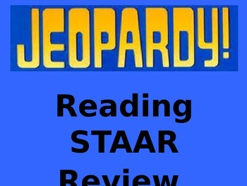 Reading STAAR Review Jeopardy