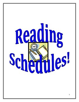 Reading Schedules