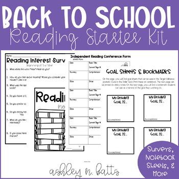 Interactive Reading Notebook Mini-Starter Kit