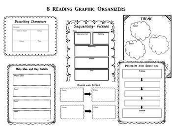 Reading Skills Graphic Organizers