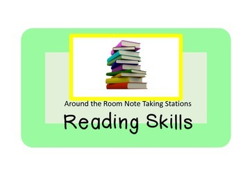 Reading Skills Note Taking Stations