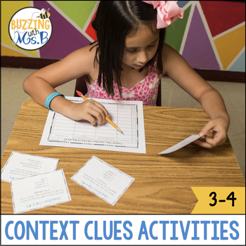 Reading Skills Pack: Context Clues Center Activities and P