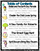 Reading Skills & Reading Comprehension Activities Spring Themed