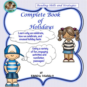Reading Skills & Strategies for all American Holidays