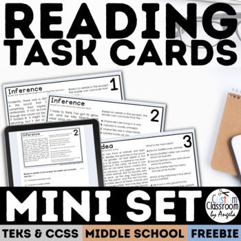 Reading Skills Task Card Mini Set