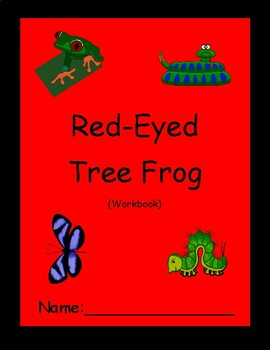 Reading Skills Workbook - Red-Eyed Tree Frog